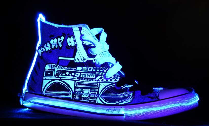 led schuhe leuchtschuhe sneaker