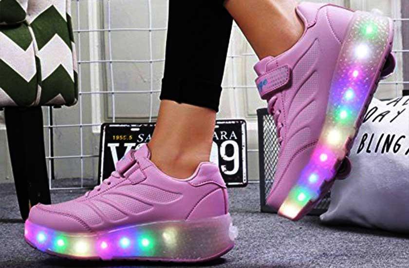super cute fb357 34de0 Die besten Schuhe mit Rollen | Leuchtende Heelys - NEUE ...